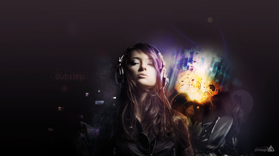 Dubstep Girl Wallpaper Page 1
