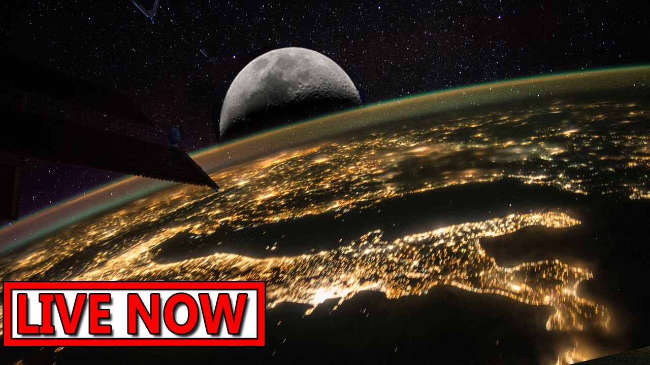 Nasa LIVE stream - Earth From Space LIVE Feed | Incredible ISS