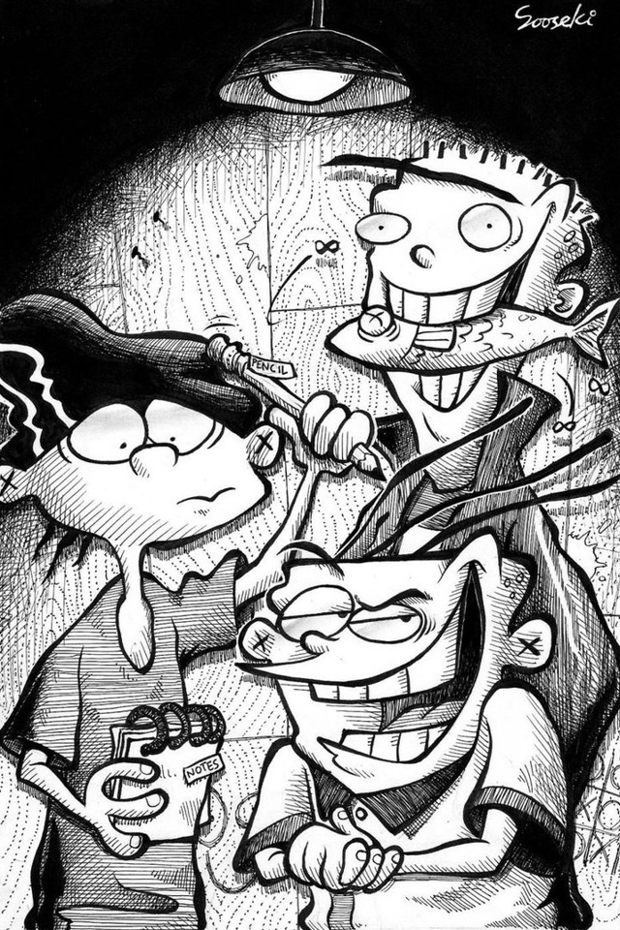 Download Ed Edd n Eddy wallpapers to your cell phone - ed edd eddy