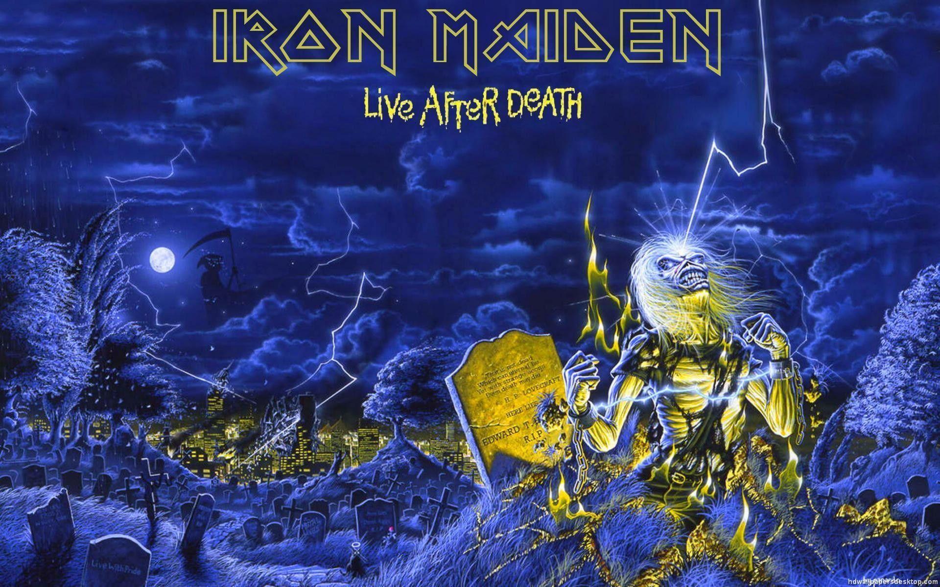 Eddie Iron Maiden Wallpaper