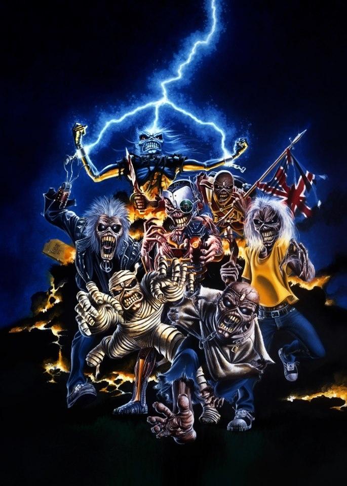 Iron Maiden Iphone Wallpaper Sf Wallpaper