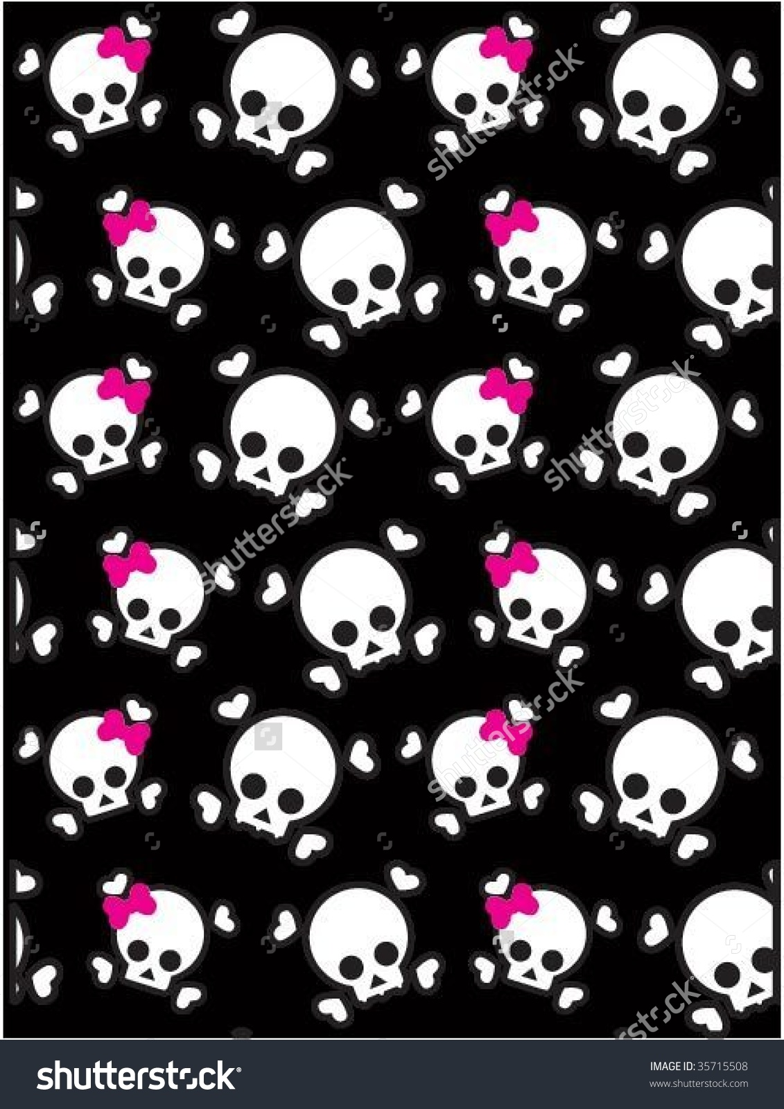 Emo Background Stock Vector 35715508 - Shutterstock