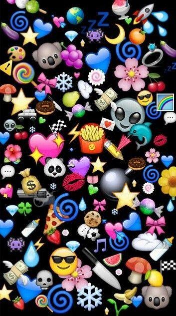 Emoji wallpaper - SF Wallpaper