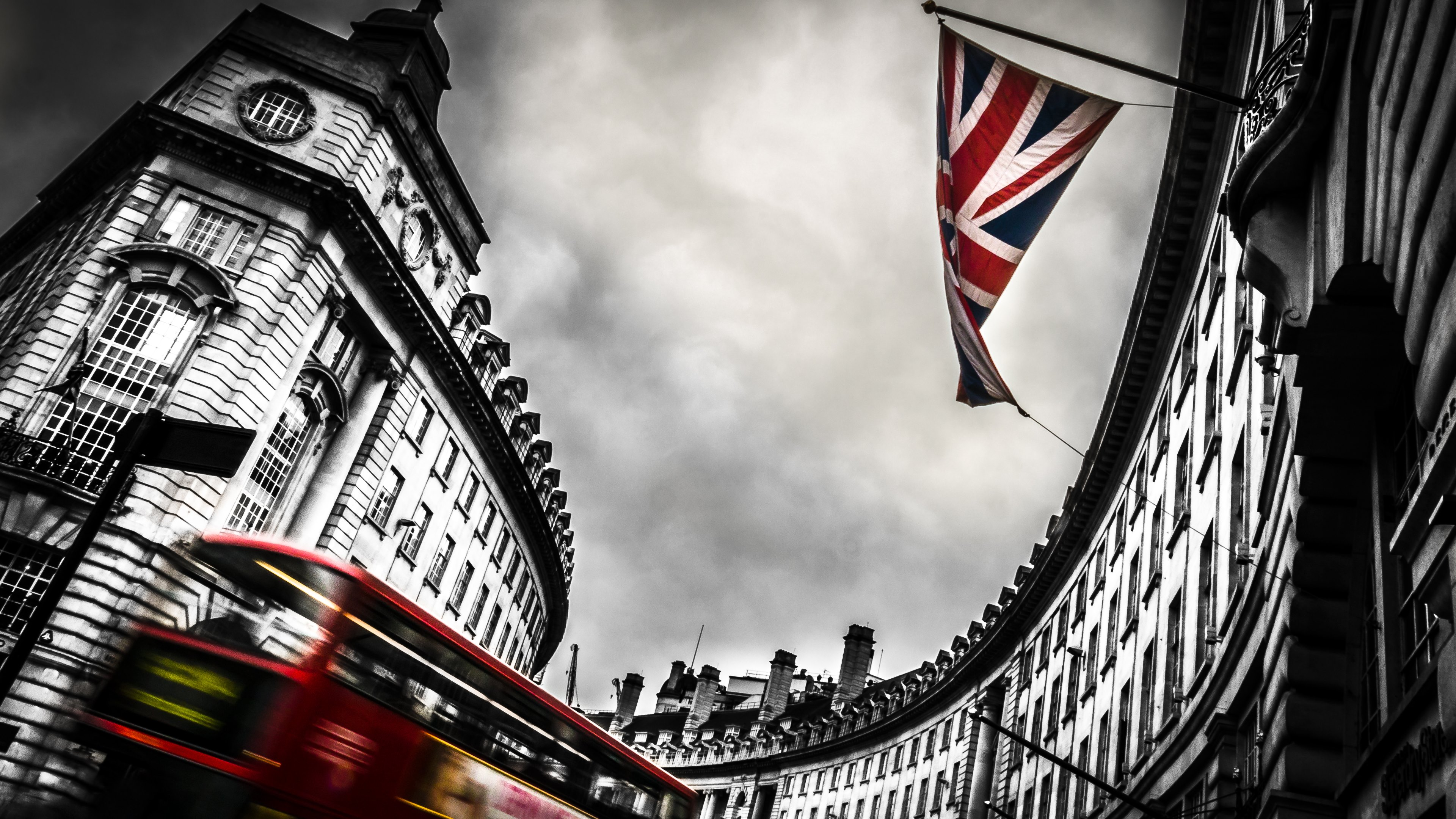 London Bus and England Flag Wallpapers · 4K HD Desktop Backgrounds