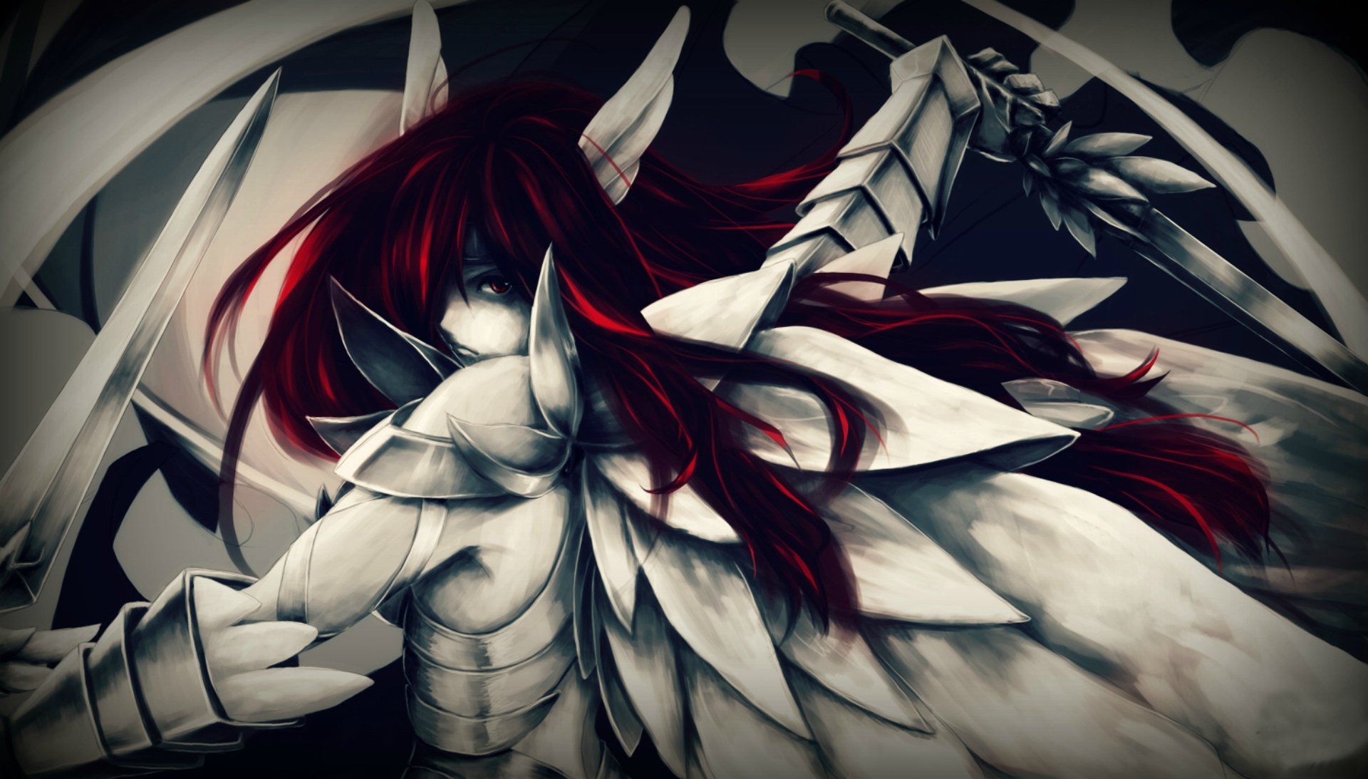 254 Erza Scarlet HD Wallpapers | Backgrounds - Wallpaper Abyss