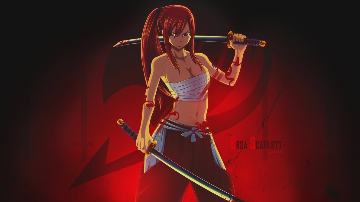 Collection Of Fairy Tail Erza Scarlet Wallpaper On HDWallpapers