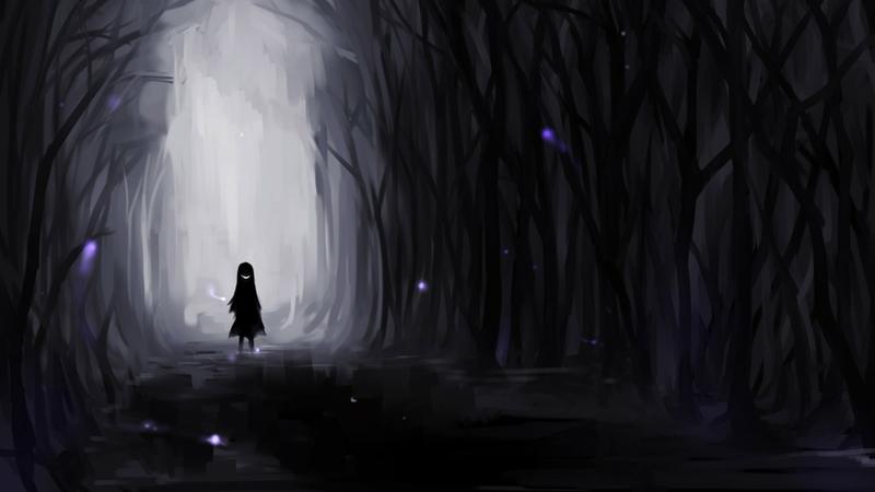 Image - Mrreepy dark forest evil smiles anime drawn 1920x1080