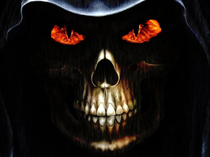 Collection of Evil Skull Wallpaper on HDWallpapers
