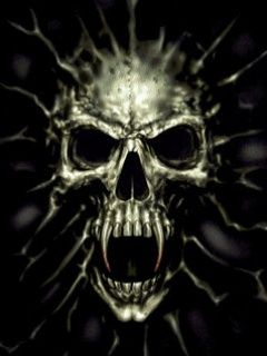 wicked skull pictures | Evil Skull wallpapers to your cell phone