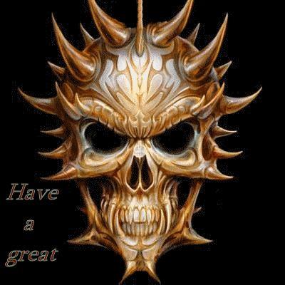 Evil Skull Wallpaper   Jacket Design: The Most Evil Man in the