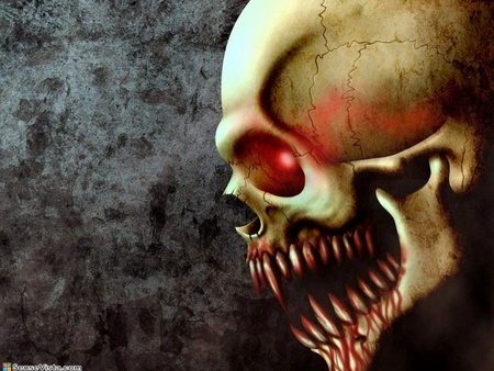 Collection of Evil Skulls Wallpaper on HDWallpapers