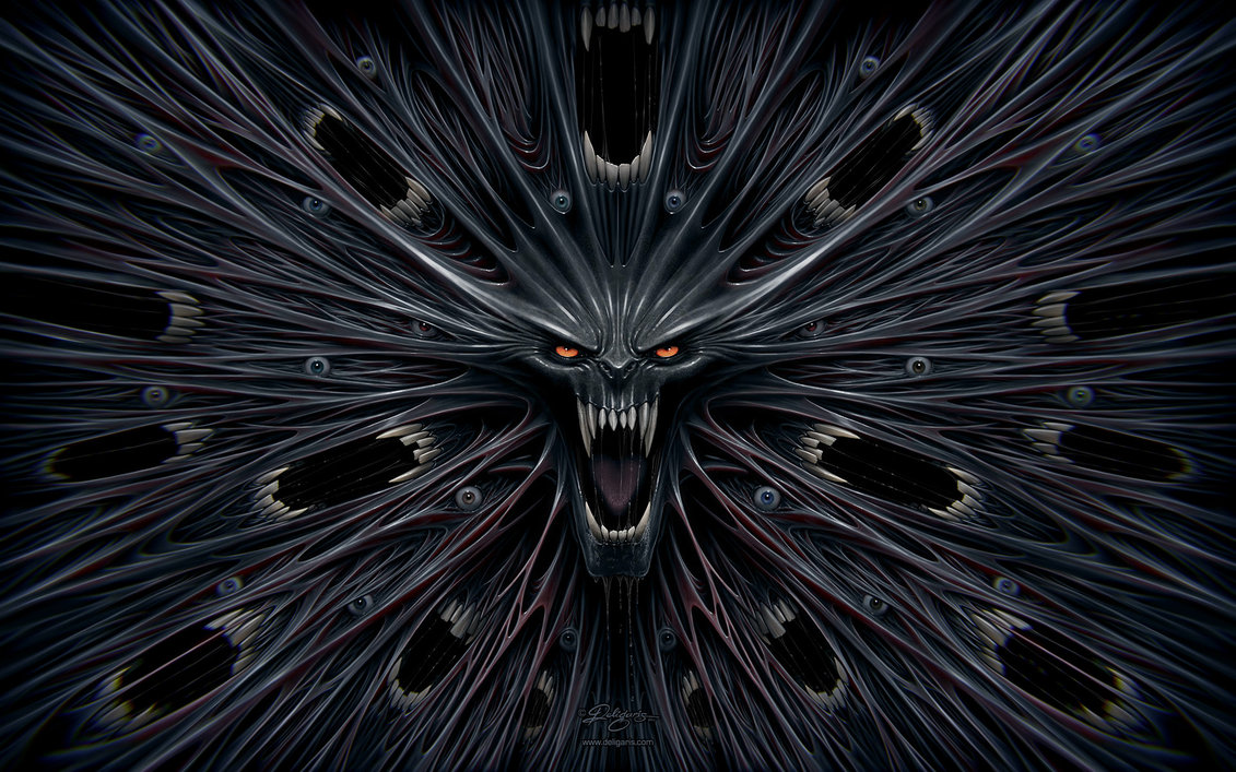 Evil Wallpaper by Deligaris on DeviantArt
