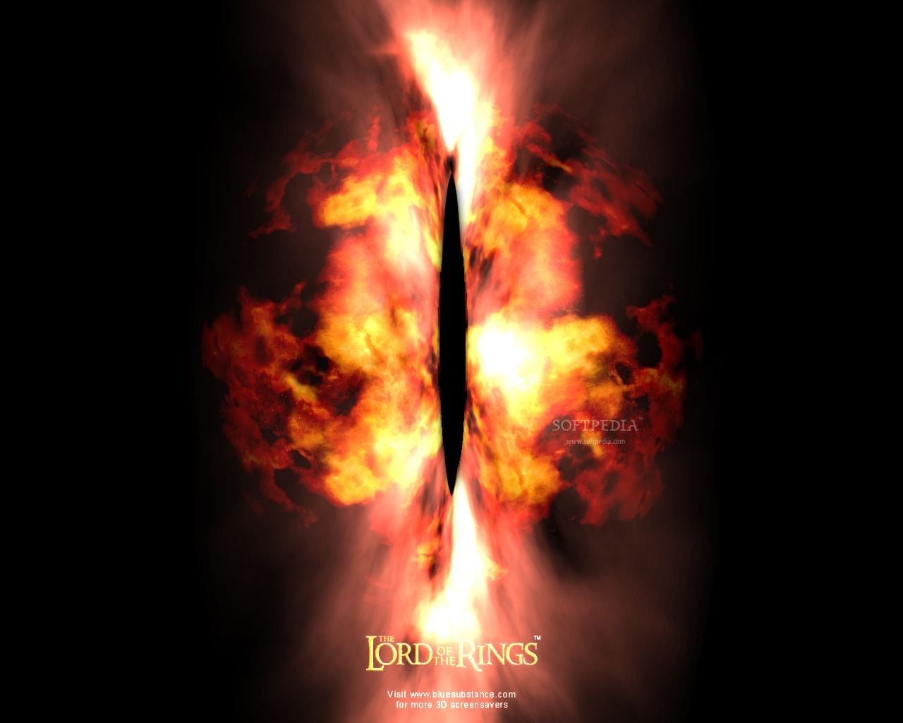 3D Lord of the Rings - Eye of Sauron Download