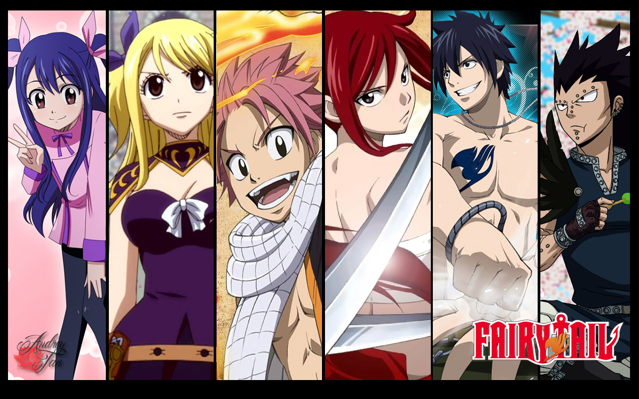 Fairy Tail Characters Wallpaper