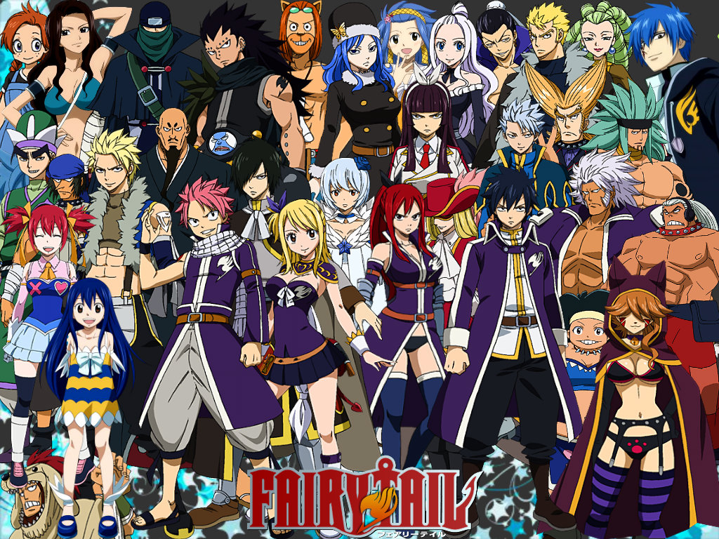 DOH283: Fairytail Wallpaper, Awesome Fairytail Backgrounds