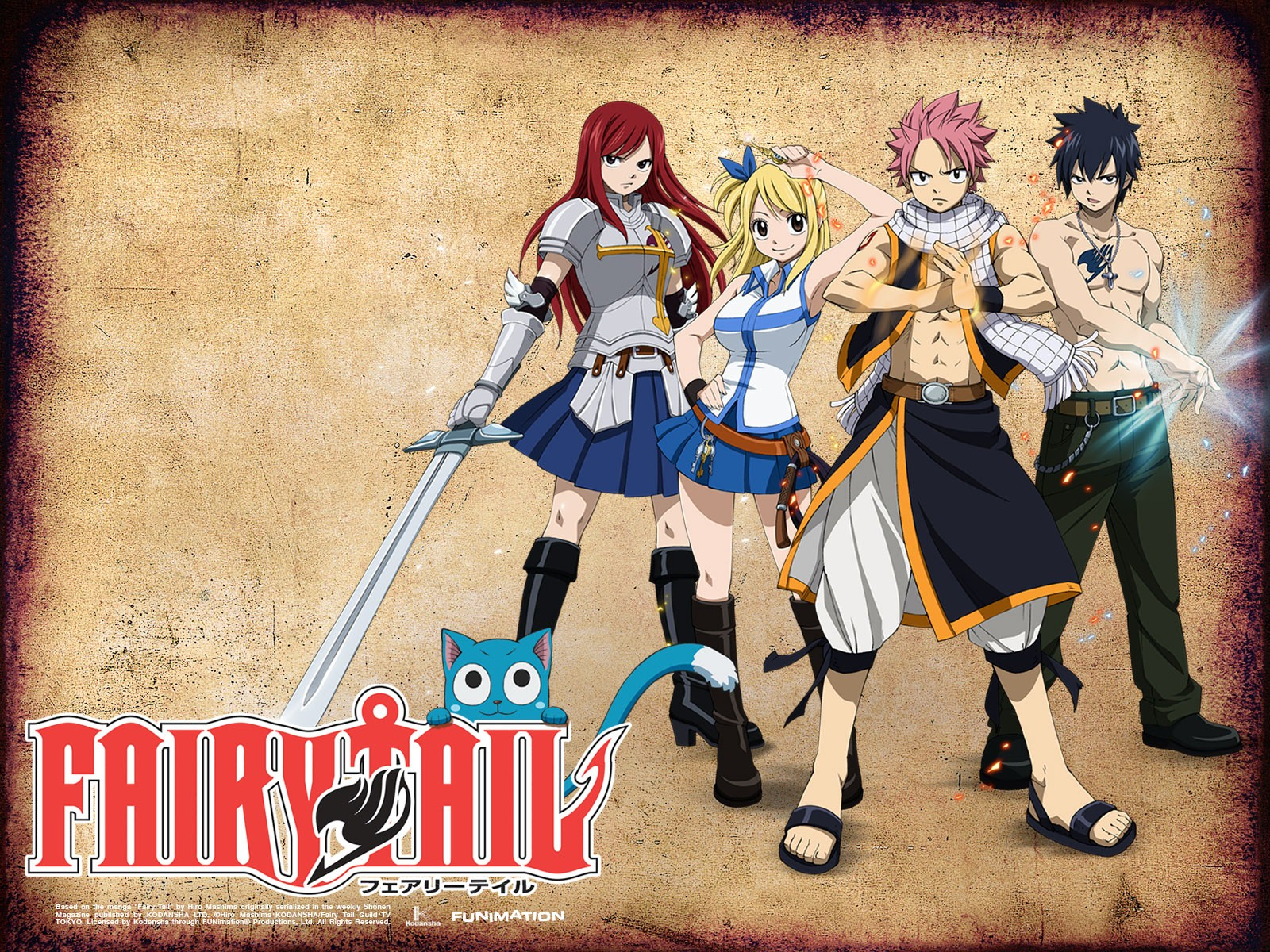 Fairy Tail Wallpapers - Fairy Tail Wallpaper (35304365) - Fanpop