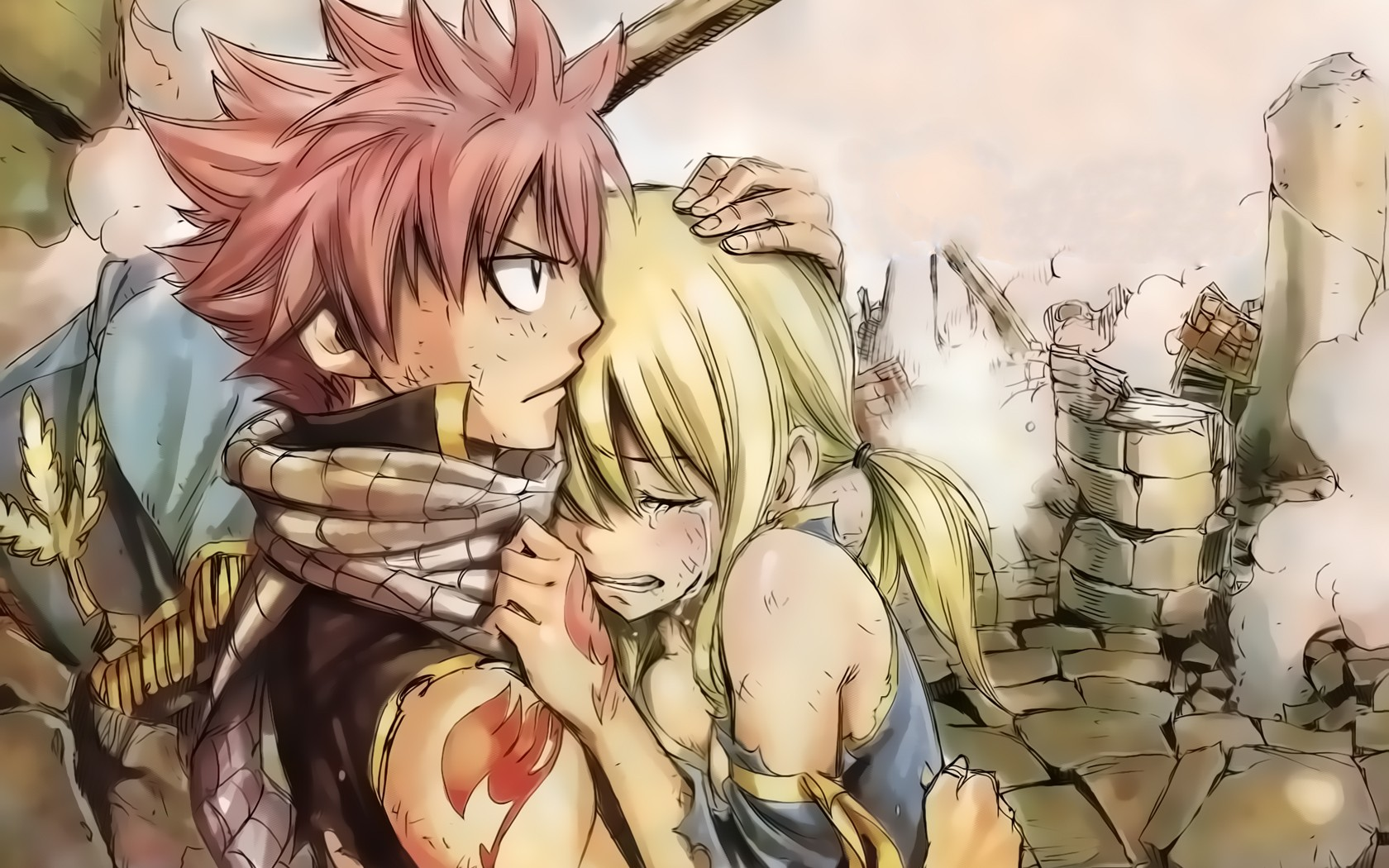 Download Fairy Tail Dragneel Natsu Manga Heartfilia Lucy Wallpaper