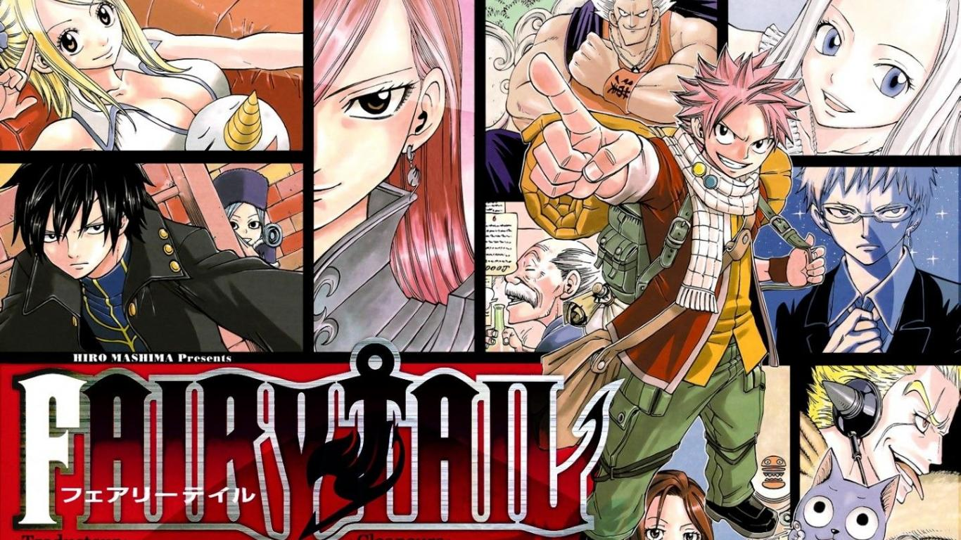 Fairy Tail Wallpapers 1366x768 Group 84