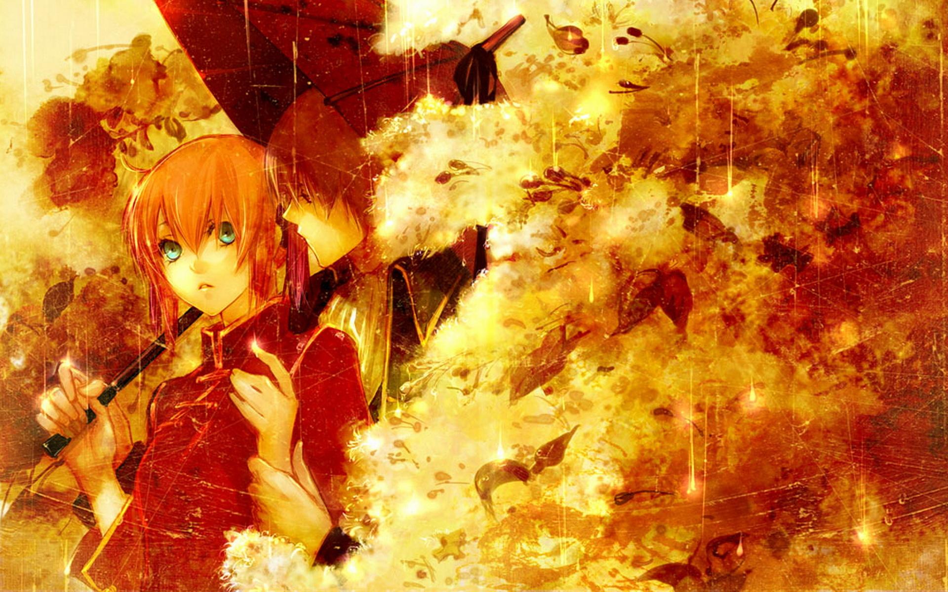Anime Fall Wallpapers - WallpaperSafari
