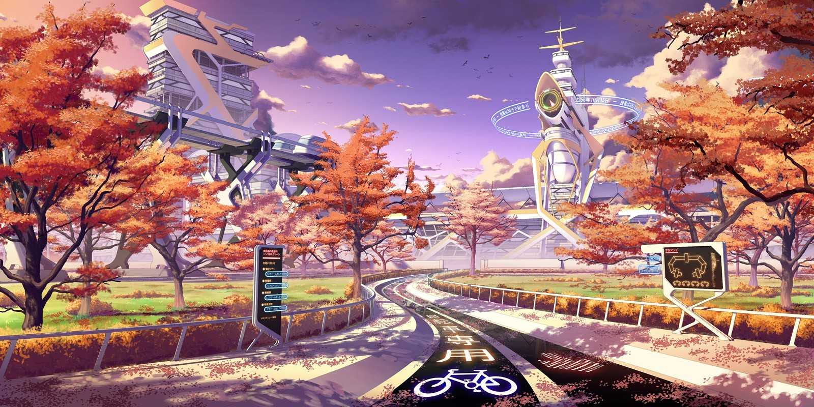 Fall Anime Wallpaper Sf Wallpaper
