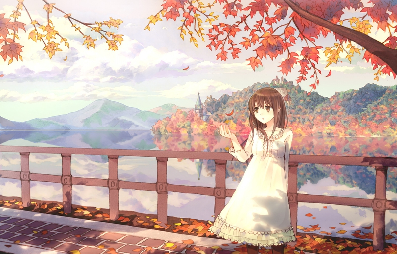 67 anime fall wallpaper Pictures
