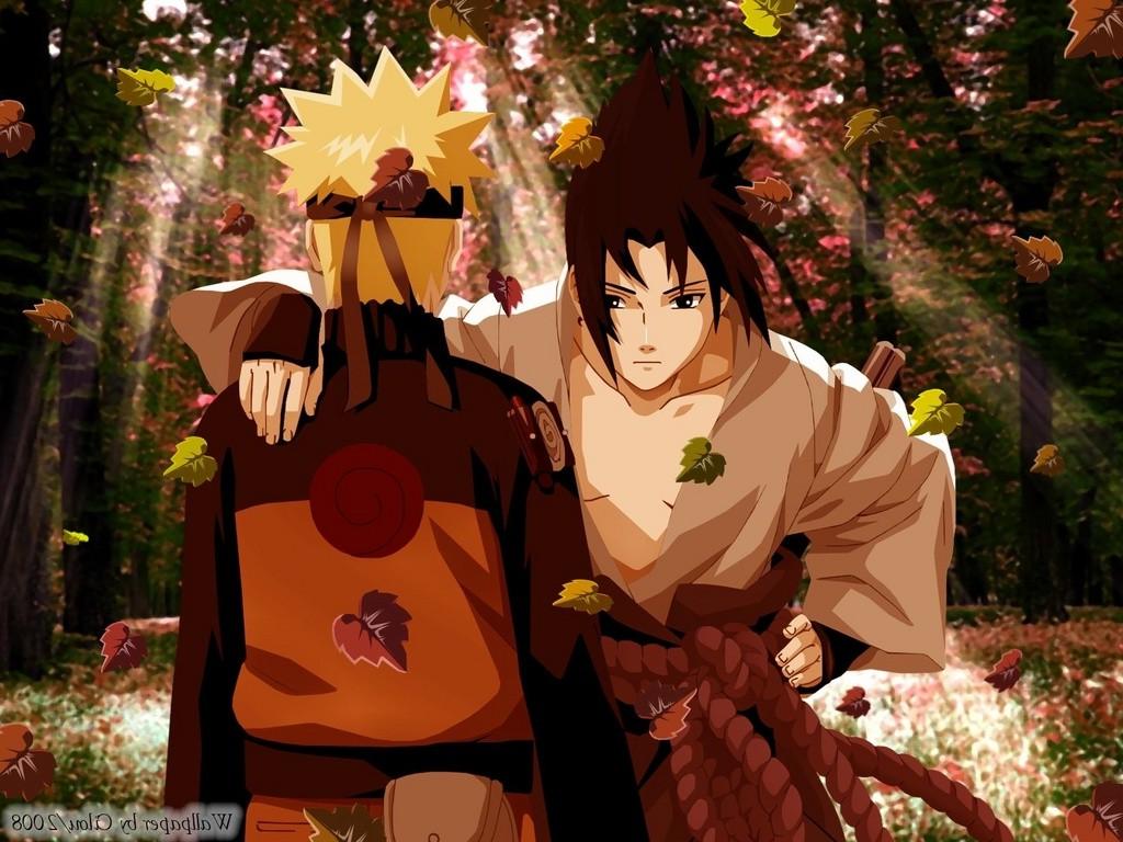 anime, Uzumaki Naruto, Naruto Shippuuden, Uchiha Sasuke, Fall