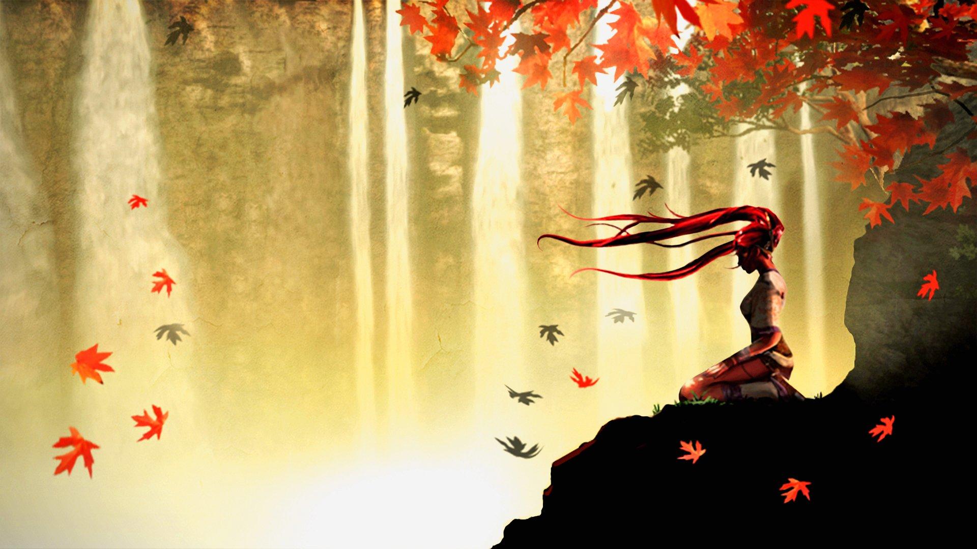 Fall Anime Wallpaper