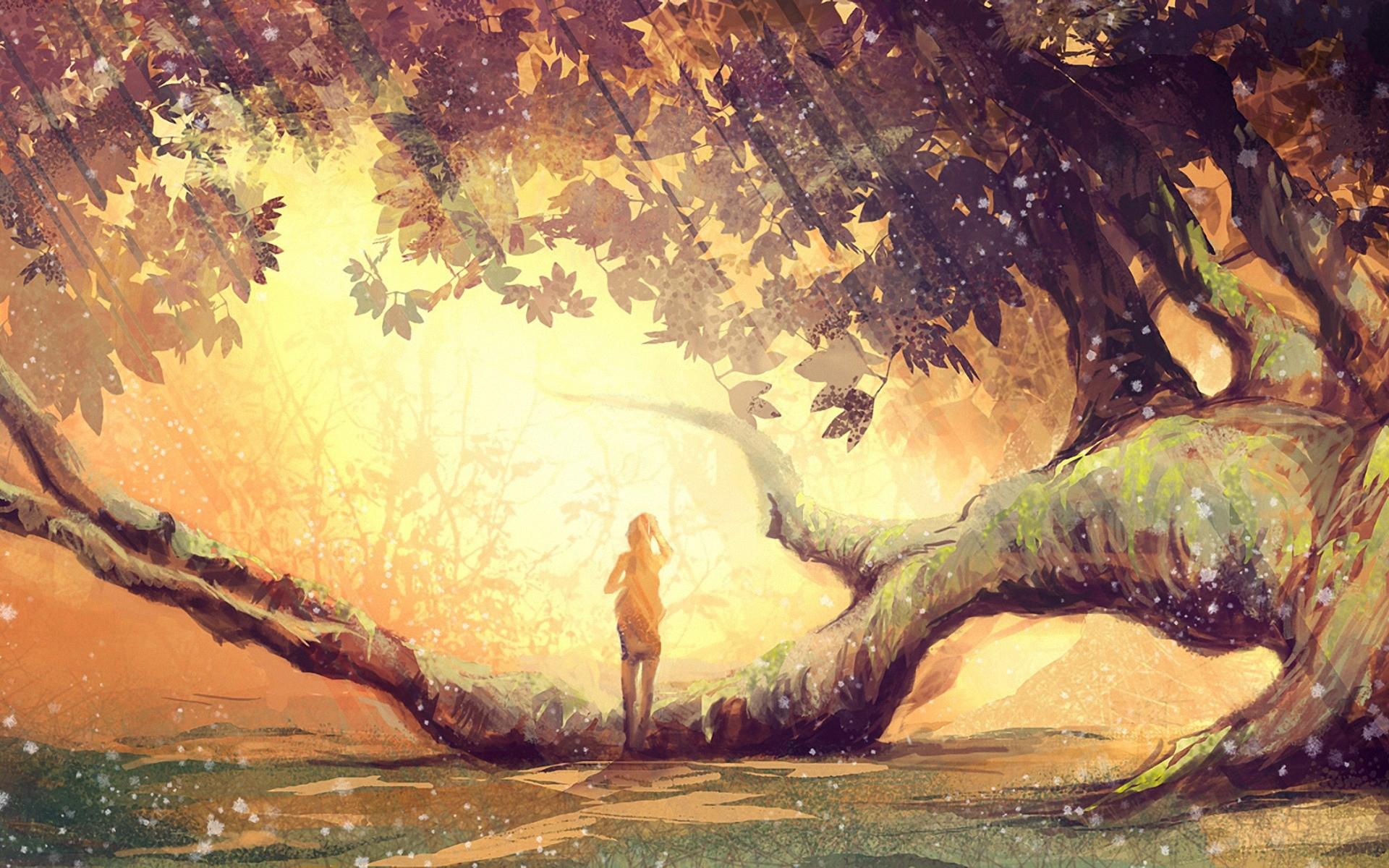 Anime Fall Season - HDWallpaperFX