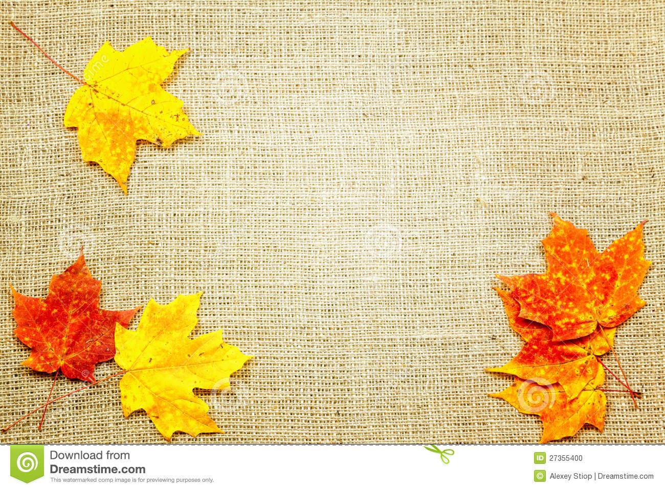 Fall Background Stock Photo - Image: 27355400