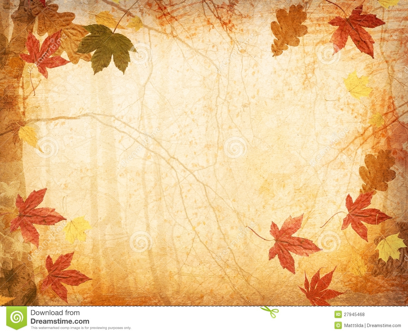 Fall Background Image Page 1