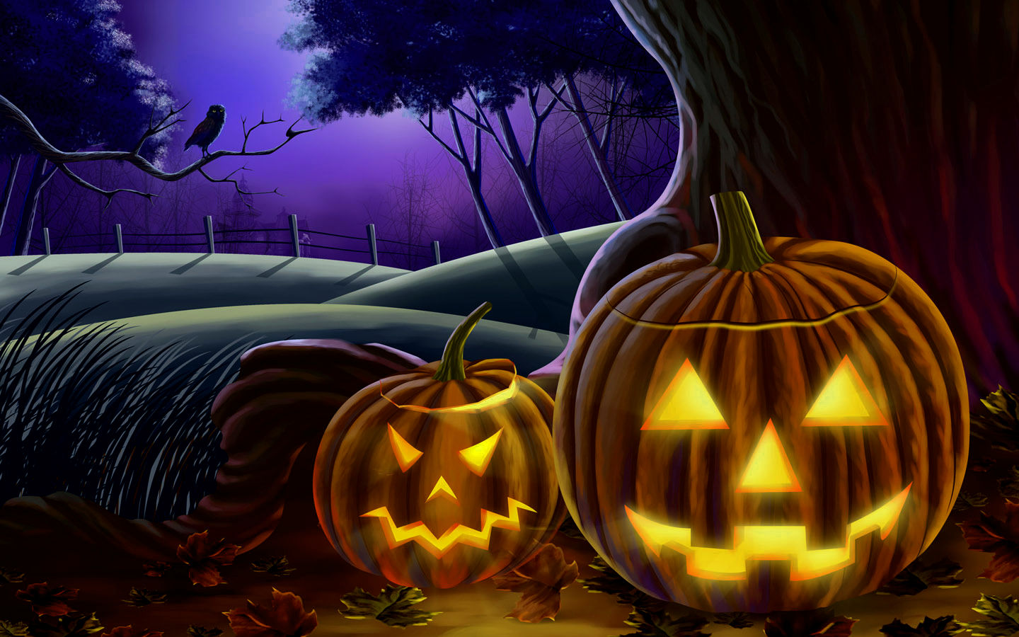 Fall Halloween Wallpaper | tianyihengfeng|Free Download High