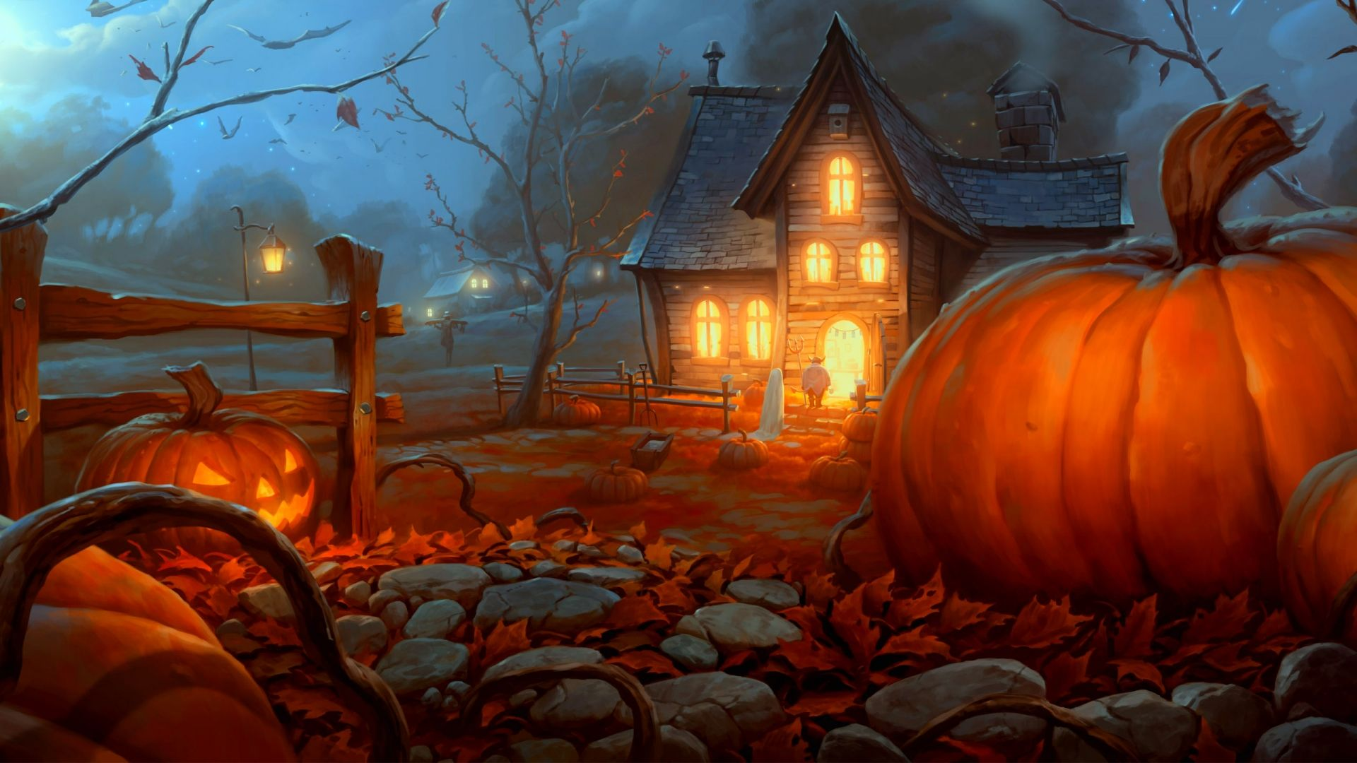 Collection of Fall Halloween Backgrounds on HDWallpapers