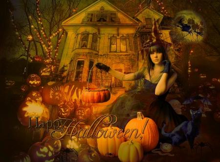 Fall Halloween Backgrounds Page 1