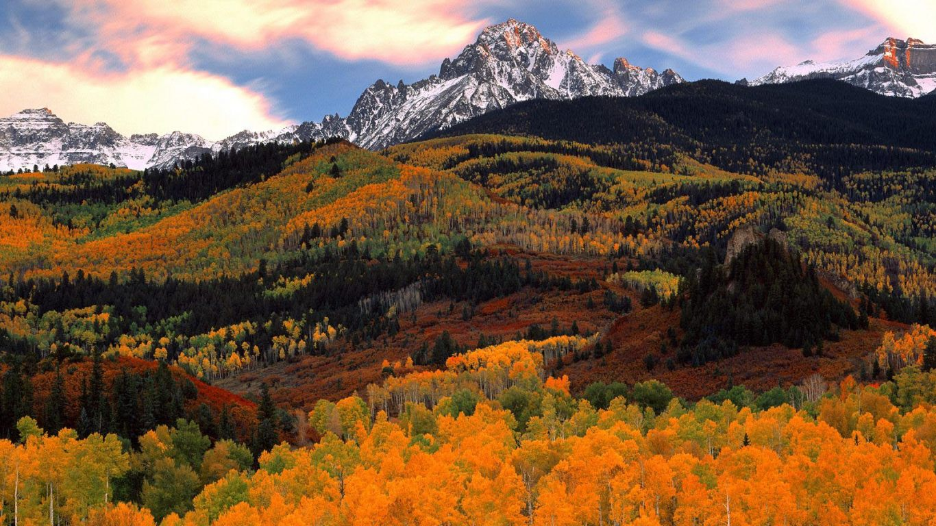Fall Colors - Mountains in Autumn < Nature < Life < Desktop Wallpaper