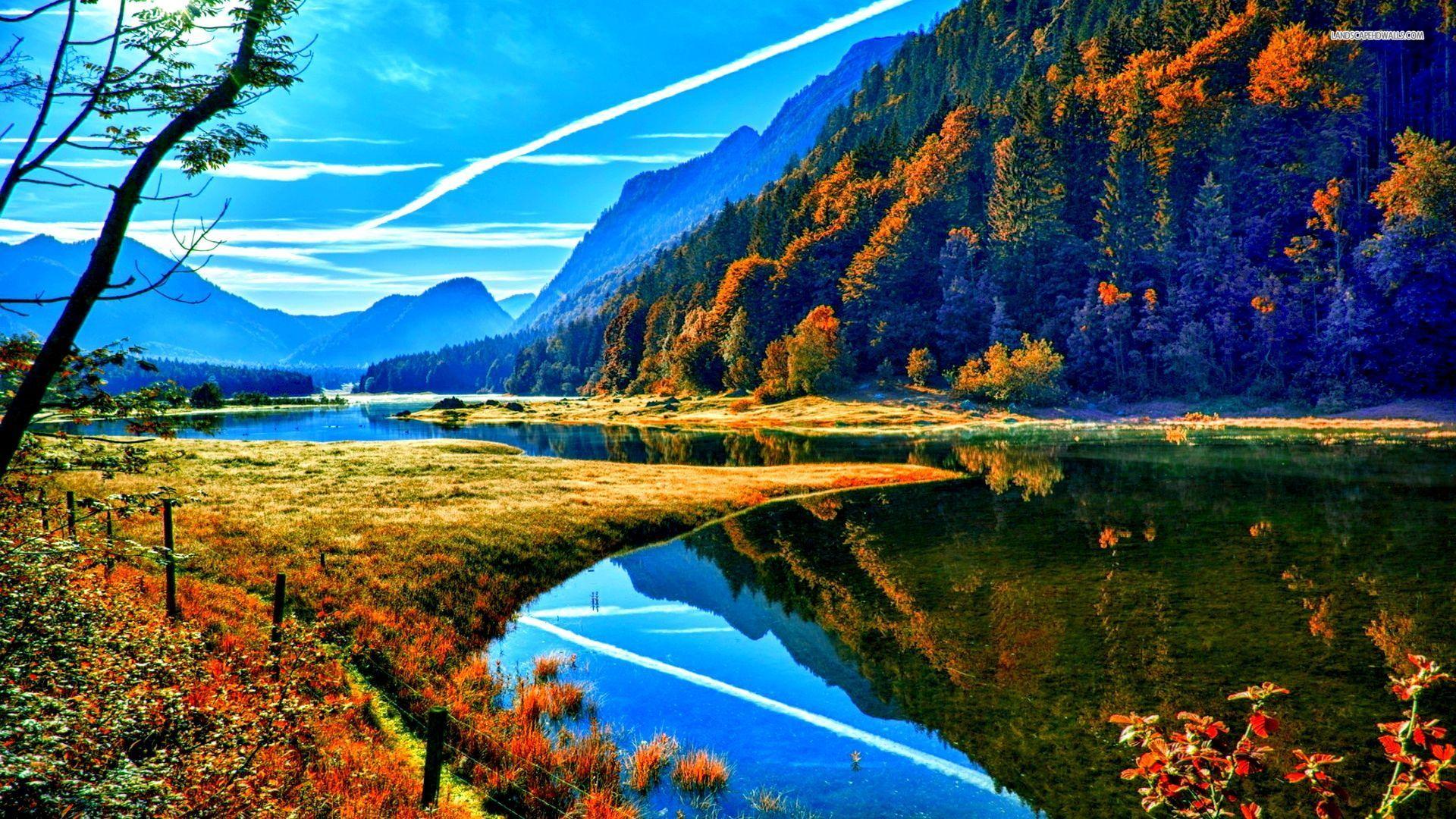 Autumn Mountain Wallpaper Widescreen - Scerbos com