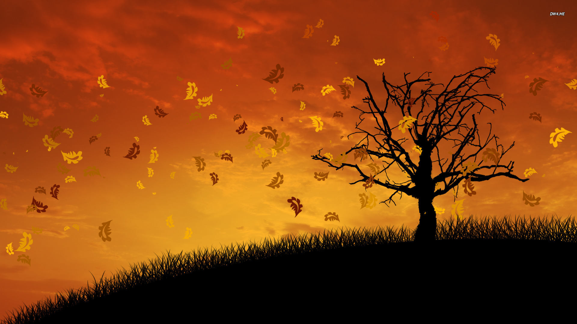 Fall Themed Wallpaper Page 1