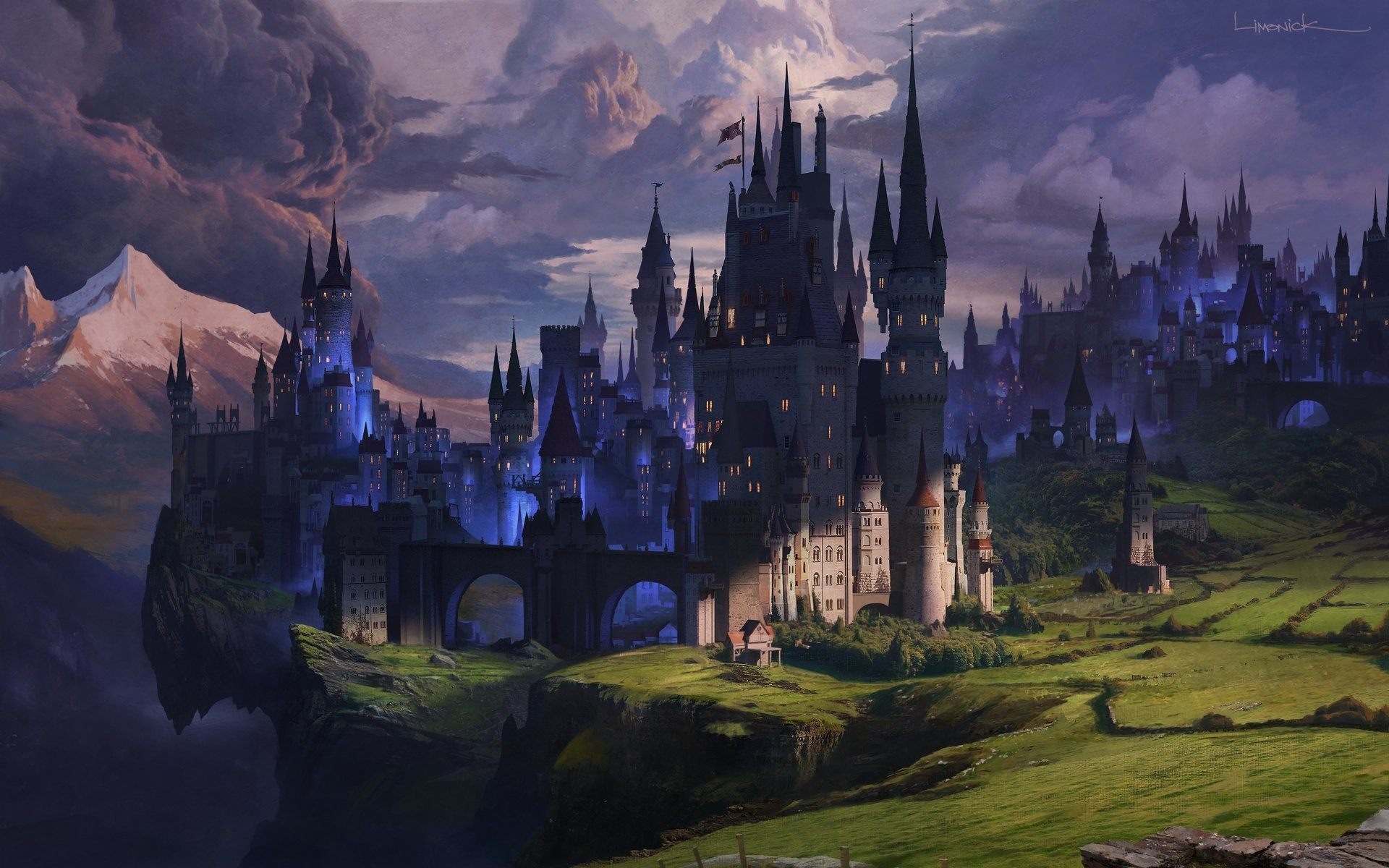 Fantasy Castle Wallpapers Sf Wallpaper