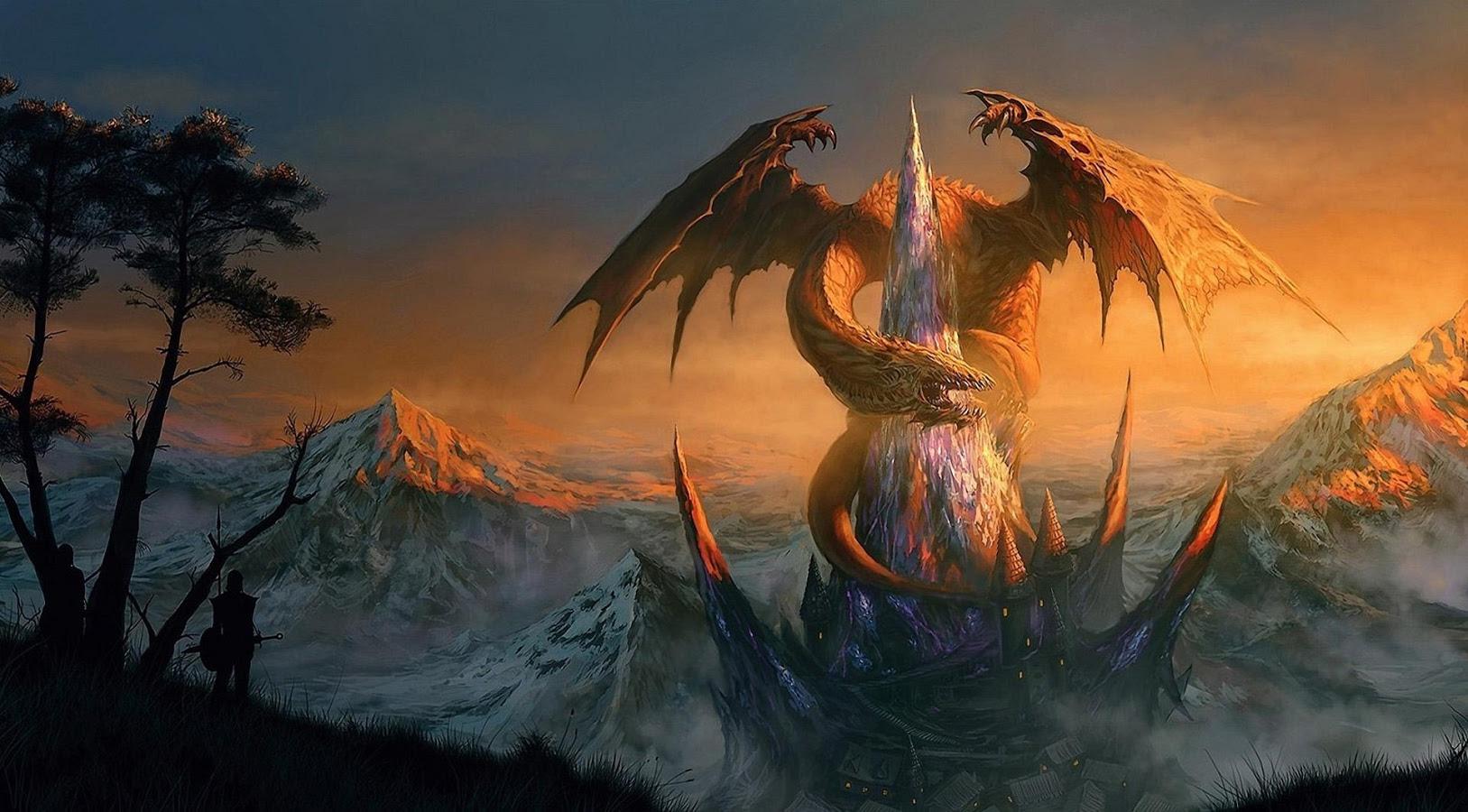 fantasy dragon wallpapers - sf wallpaper