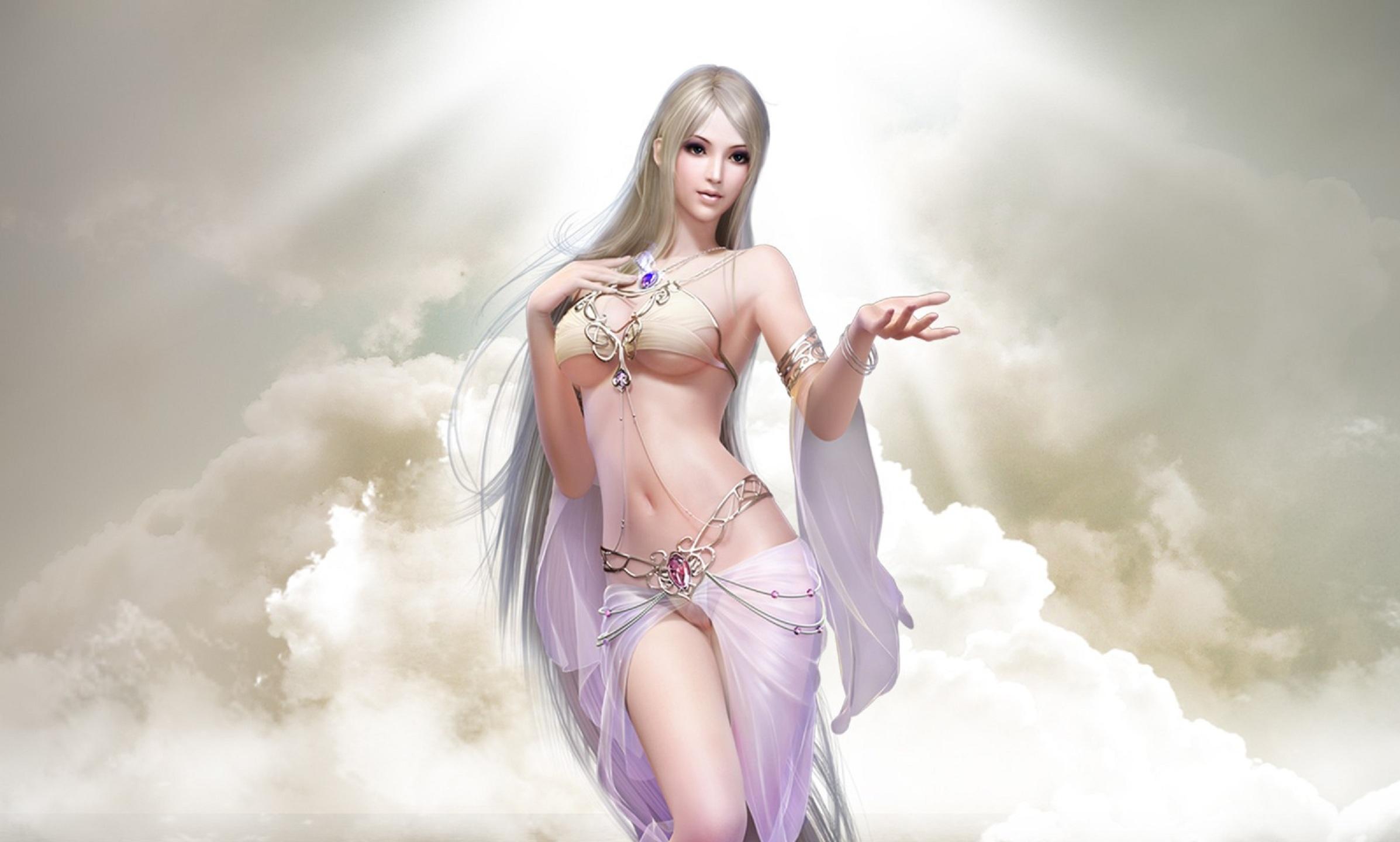 Fantasy Girl Hd Wallpaper