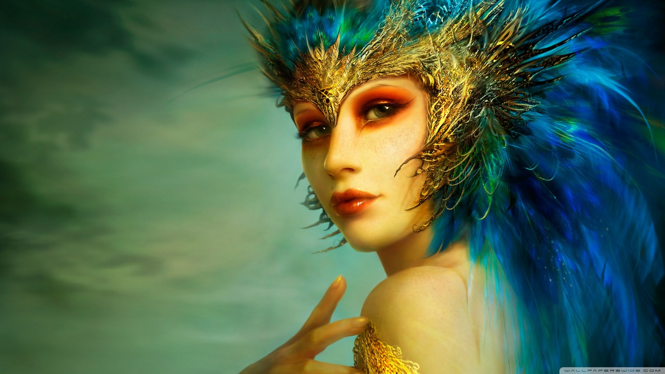 Fantasy Girl HD desktop wallpaper : High Definition : Fullscreen