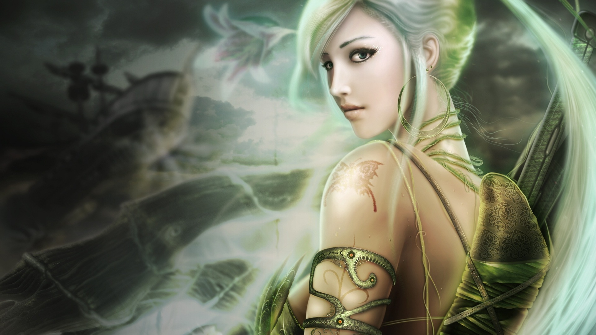 Fantasy Girl Hd Wallpaper