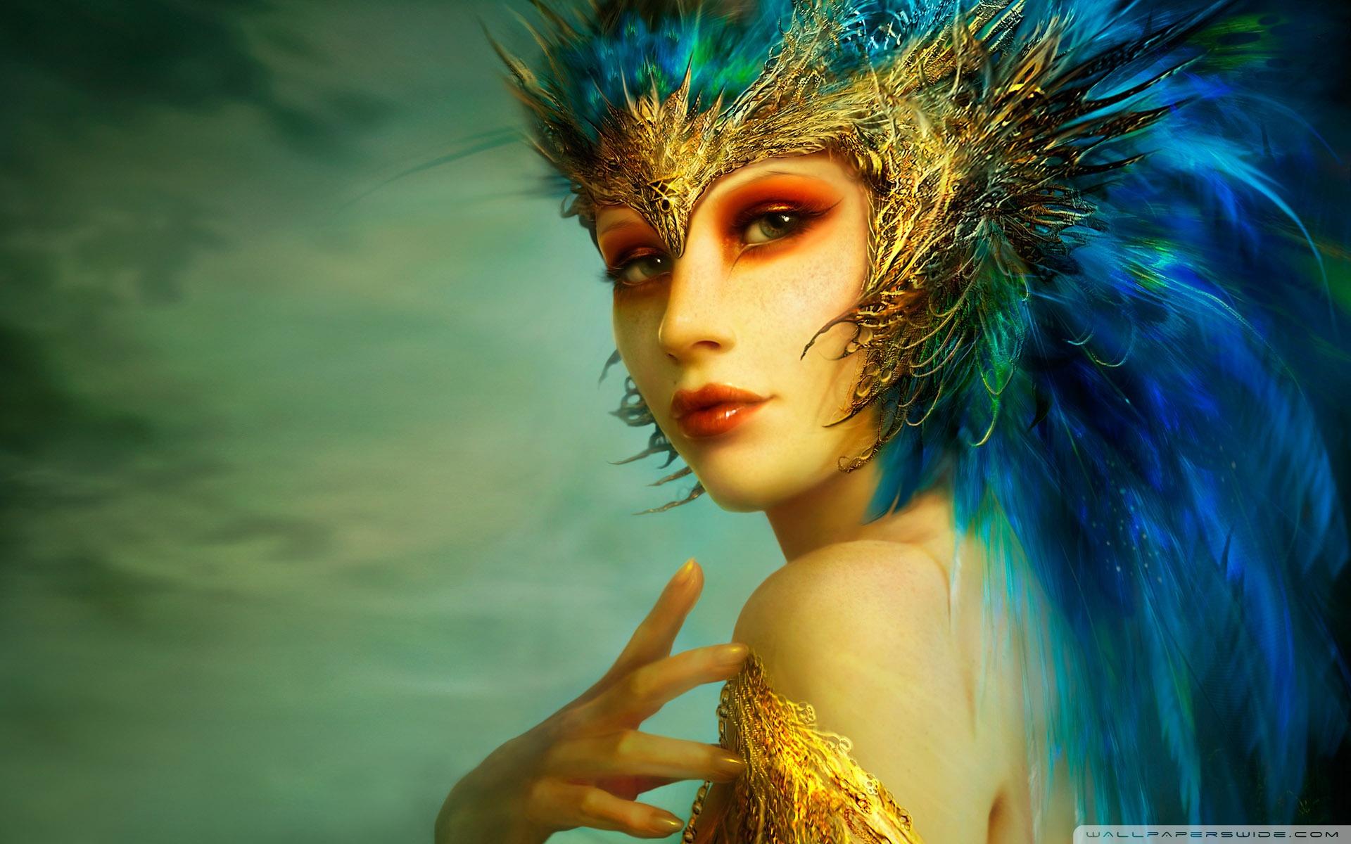 Fantasy Girl HD desktop wallpaper : High Definition : Fullscreen