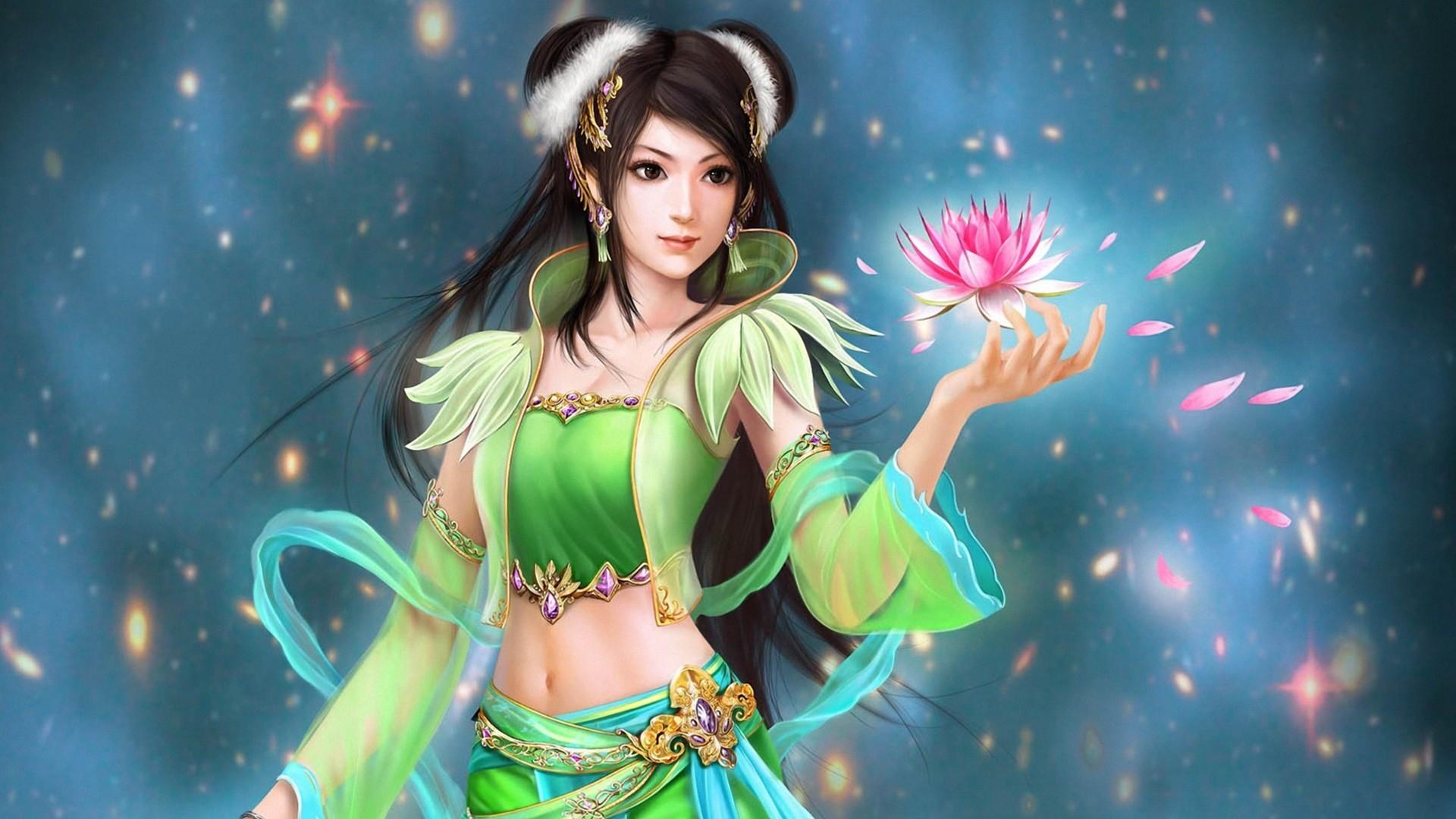3D Fantasy Girl wallpaper | 1920x1080 | #73778