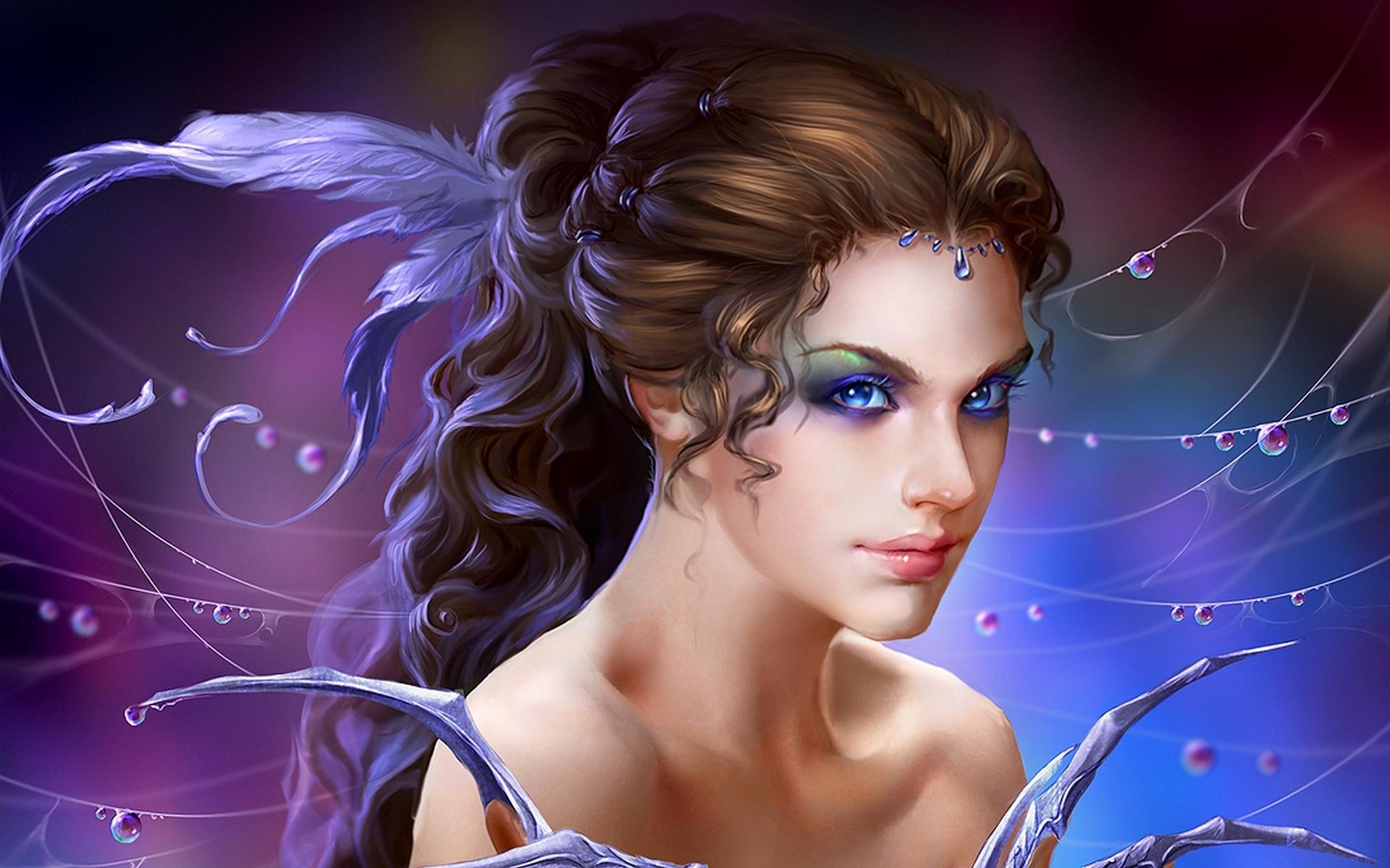 Download Cute Girl Fantasy Wallpaper | Full HD Wallpapers