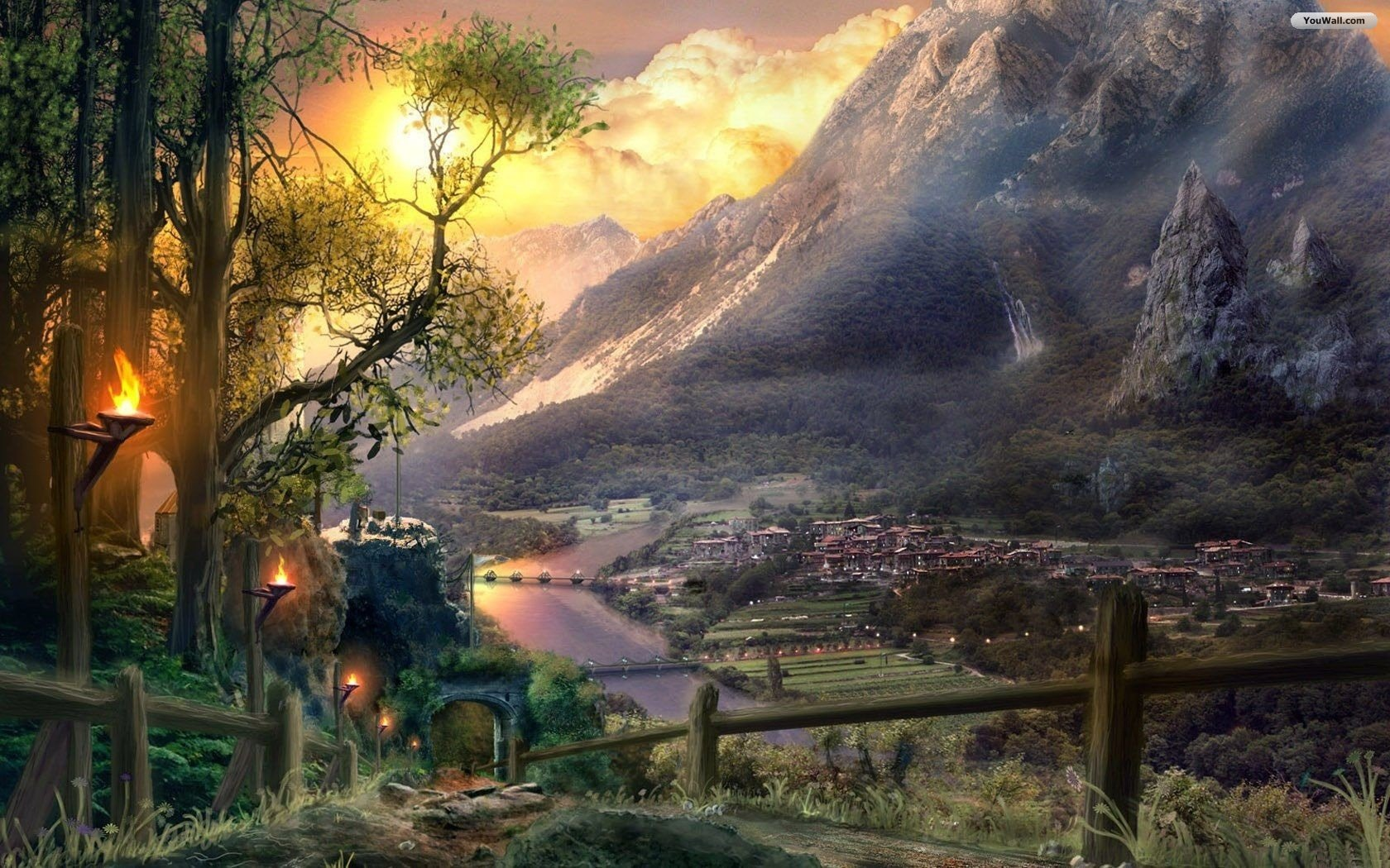 Free Fantasy Wallpaper