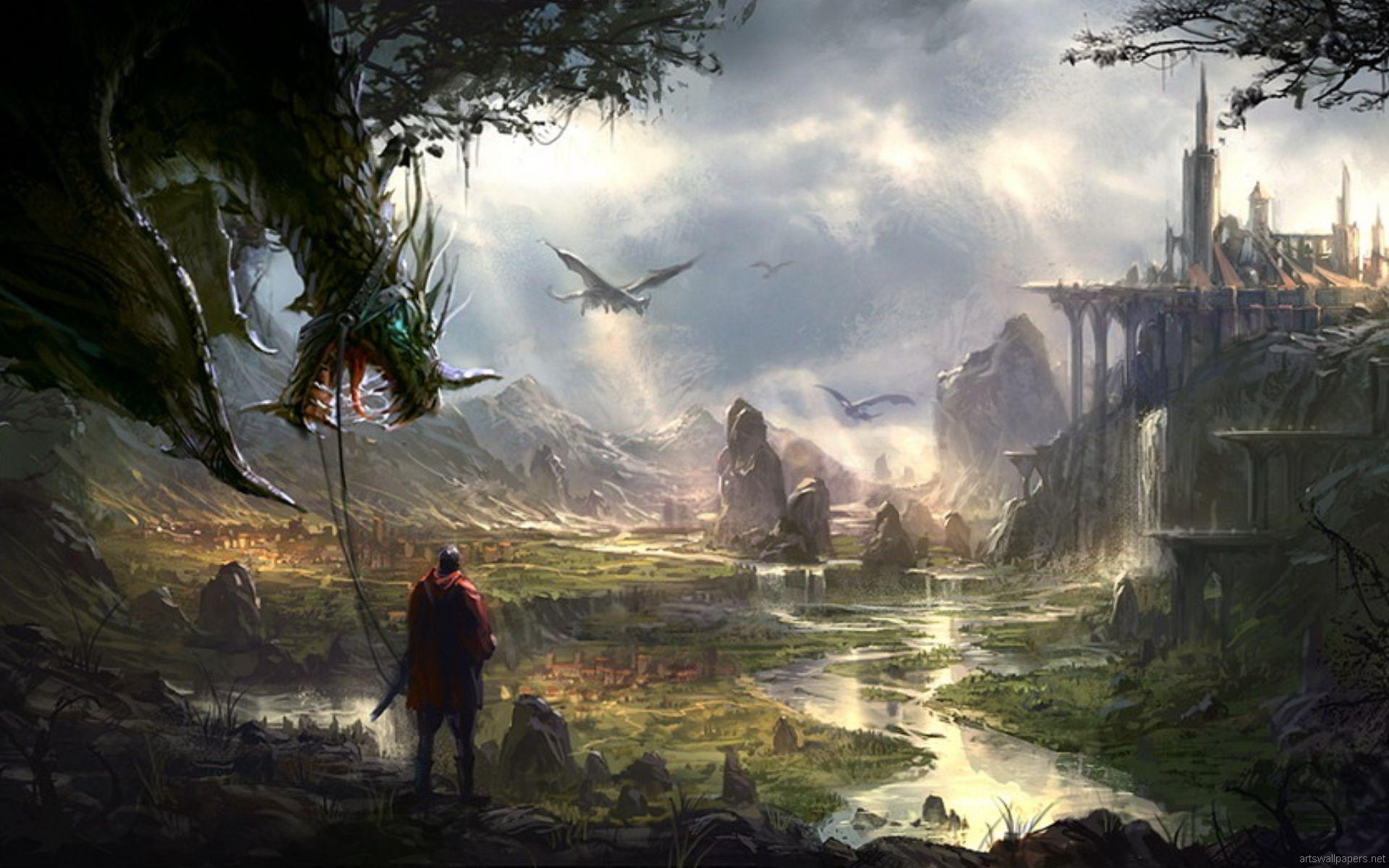 Collection of Free Fantasy Wallpapers For Desktop on HDWallpapers