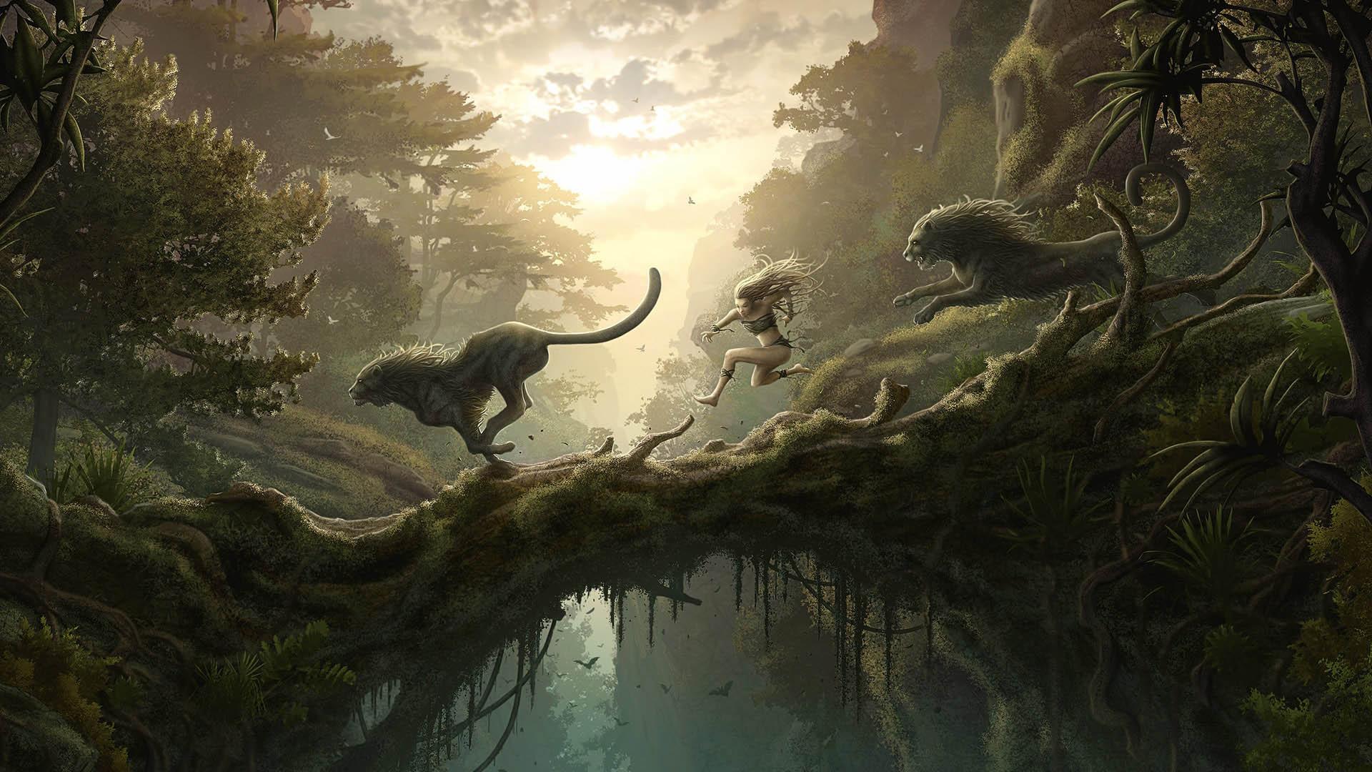 HD Fantasy World 4k Cover