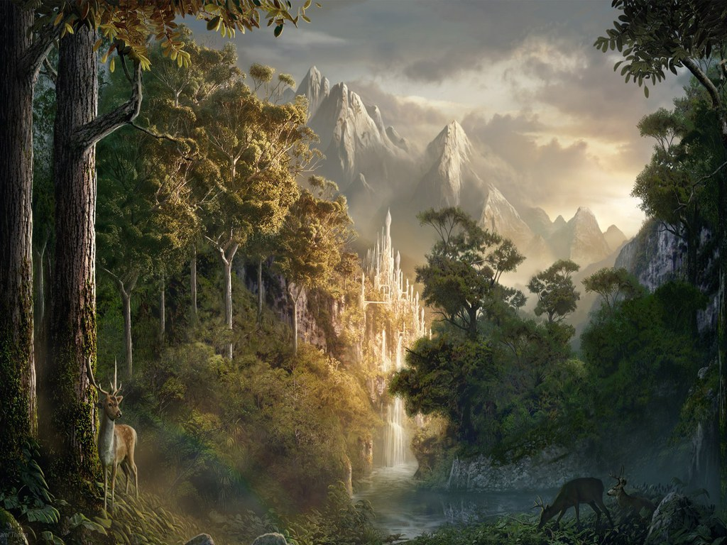 Collection of Fantasy World Wallpapers on HDWallpapers