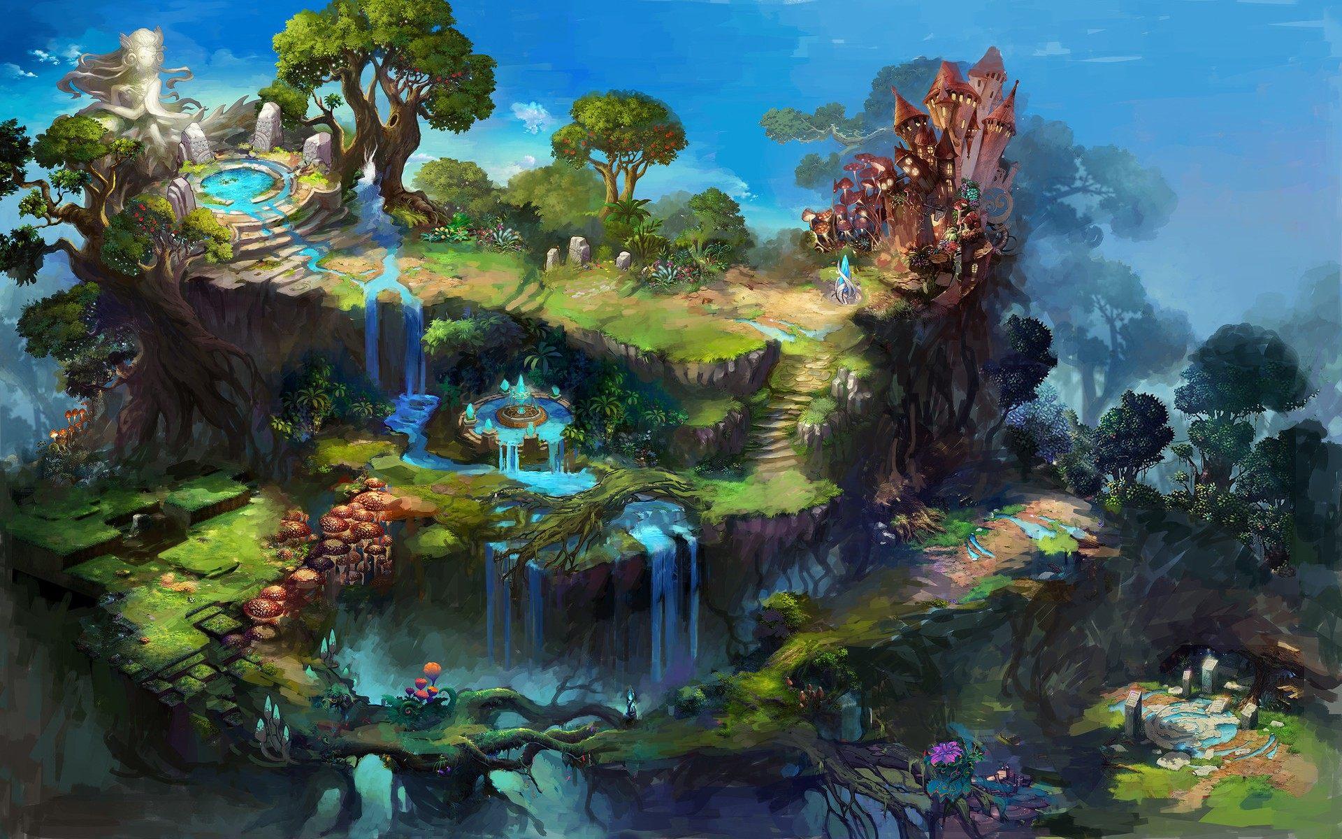 Fantasy Land HD Wallpaper For Desktop Laptop Mobile