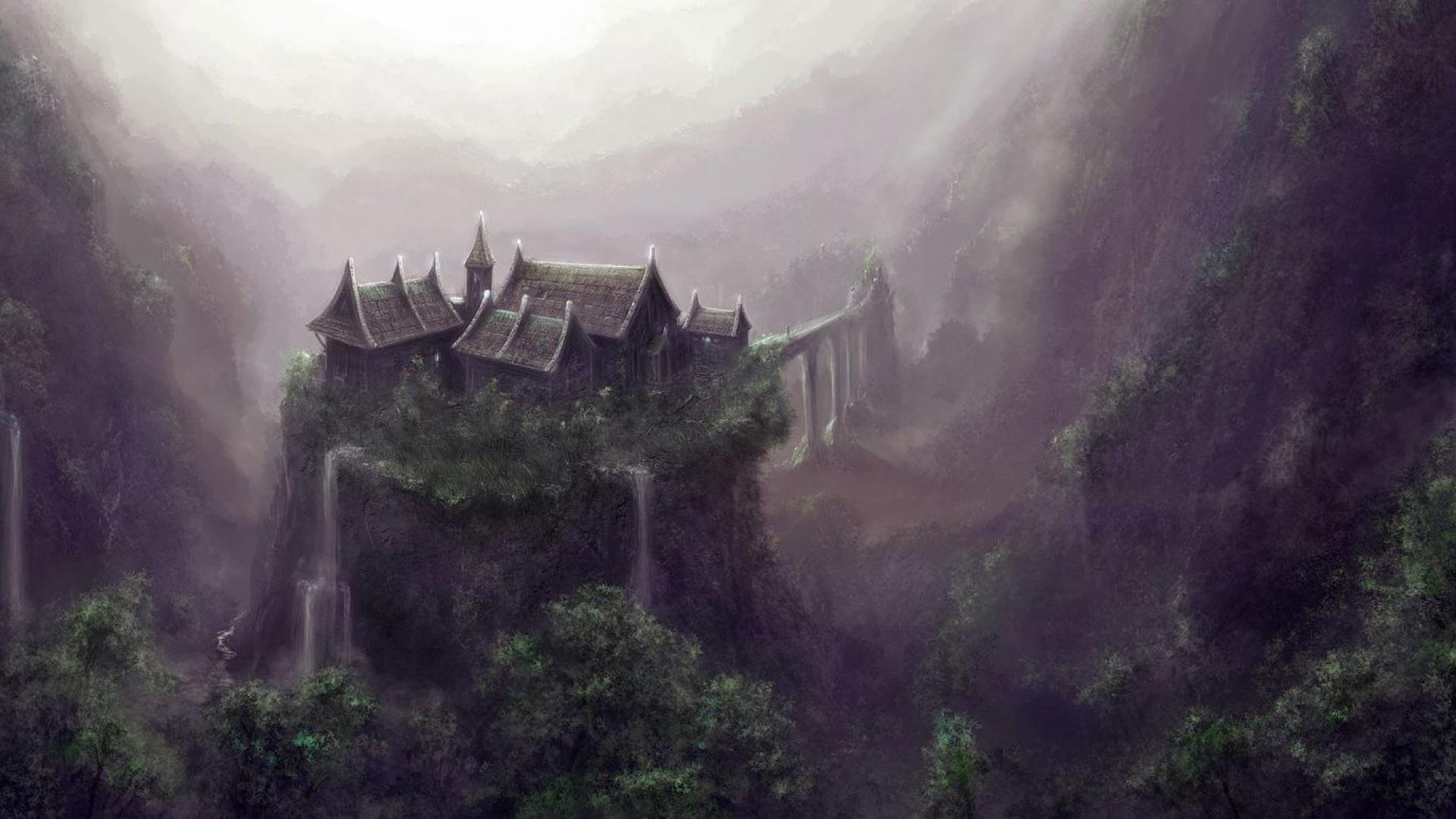 landscapes forest fantasy world kingdom hd wallpaper - (#26362